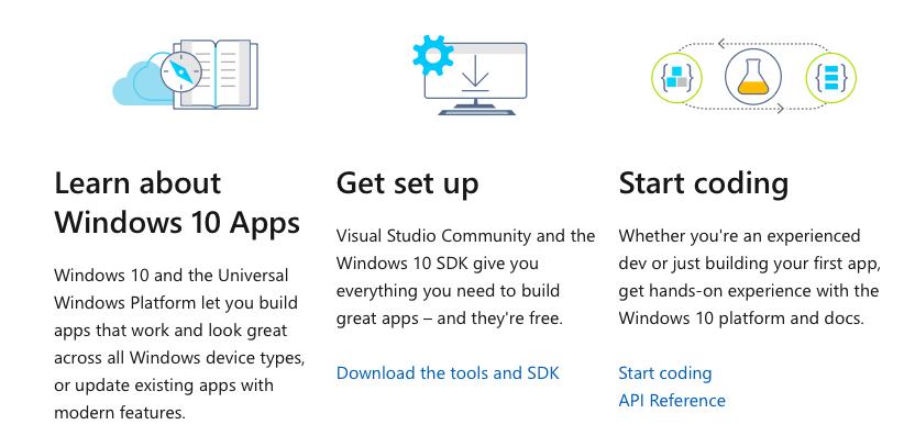 https://docs.microsoft.com/en-us/windows/uwp/get-started/